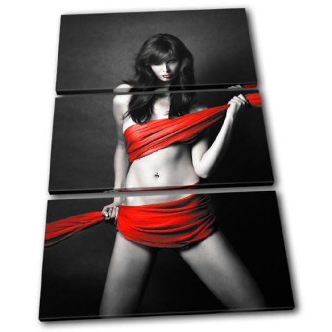 Ribbon Sexy Female Red Erotic - 13-0176(00B)-TR32-PO